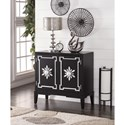 Legends Furniture Anthology Black and Silver Chest