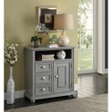 Legends Furniture Anthology Cookie Console Chest with Open Shelf