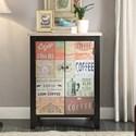 Legends Furniture Anthology Coffee Sign 2 Door Chest - Item Number: ZACC-9076