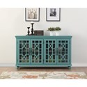 Legends Furniture Anthology Meghan Blue 4-Door Chest - Item Number: ZACC-9122