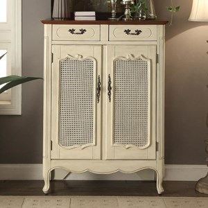 Legends Furniture Anthology Short French Bookcase