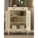Legends Furniture Anthology Traditional Short French Bookcase with Intricate Moldings