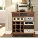 Legends Furniture Anthology Jackson Wine Cabinet - Item Number: ZJKS-7017