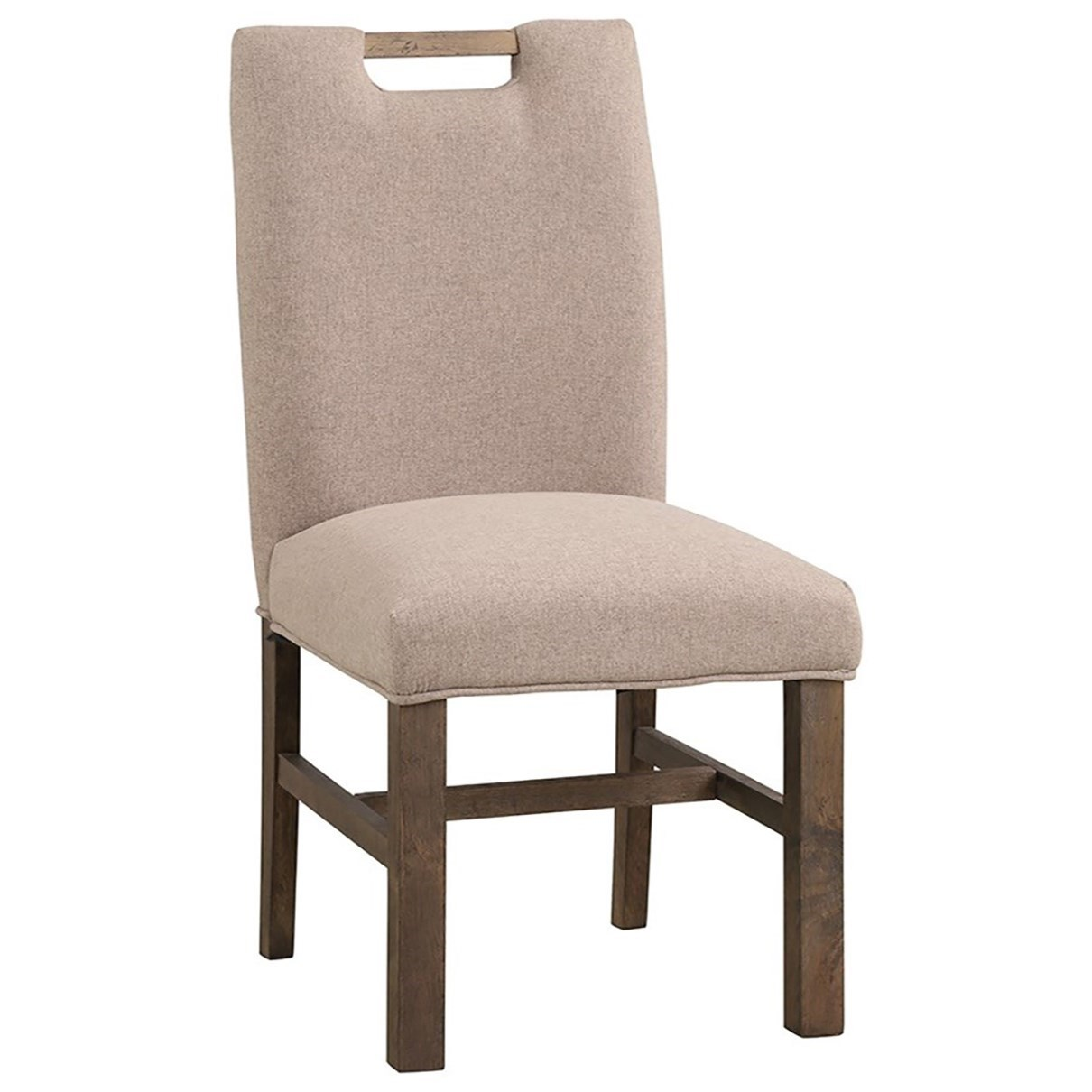 Arcadia Upholstered Side Chair by Legends Furniture at Home Furnishings Direct