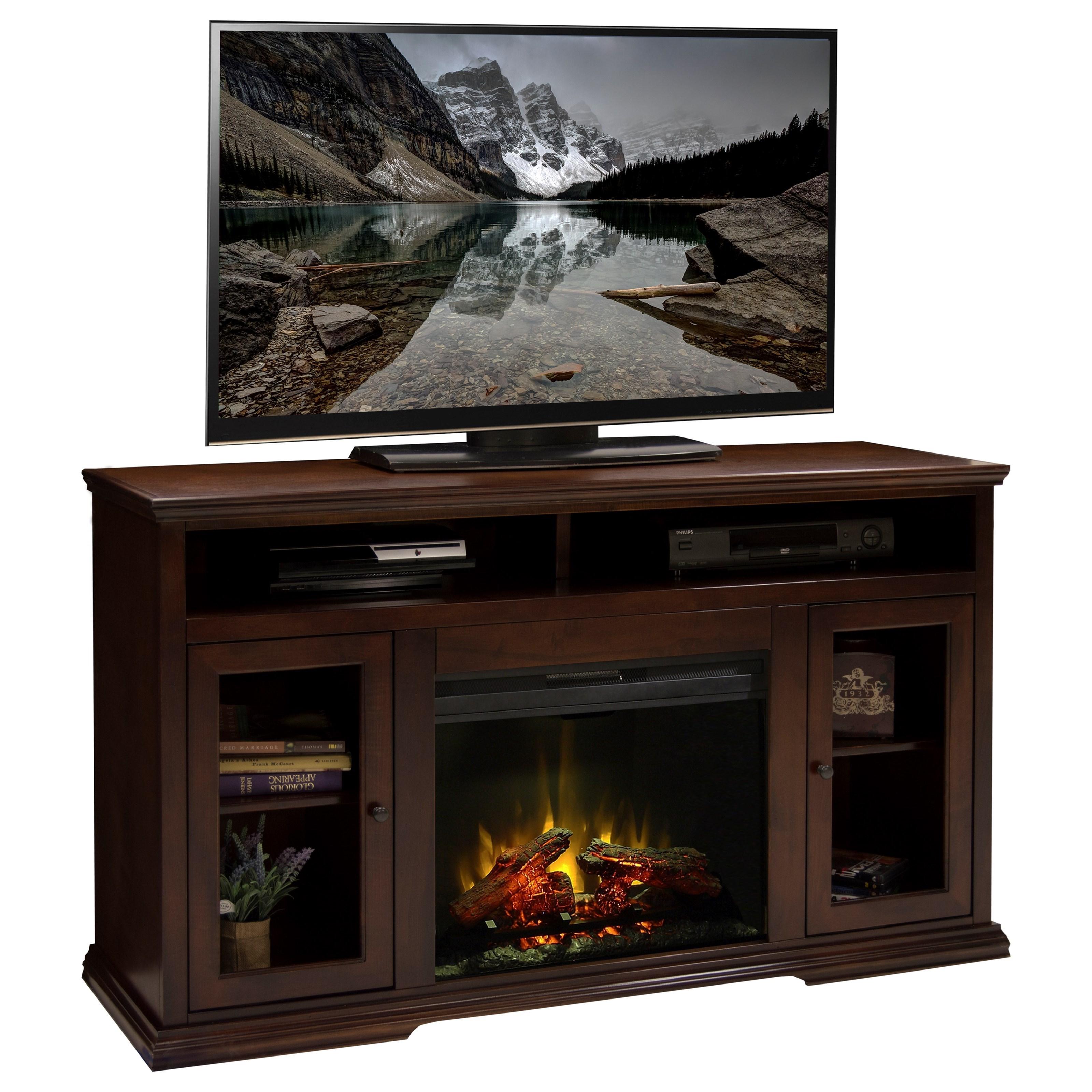 Legends Furniture Ashton Place Fireplace Console - Item Number: AP5304KIT