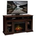 Vendor 1356 Ashton Place Fireplace Console - Item Number: AP5304KIT