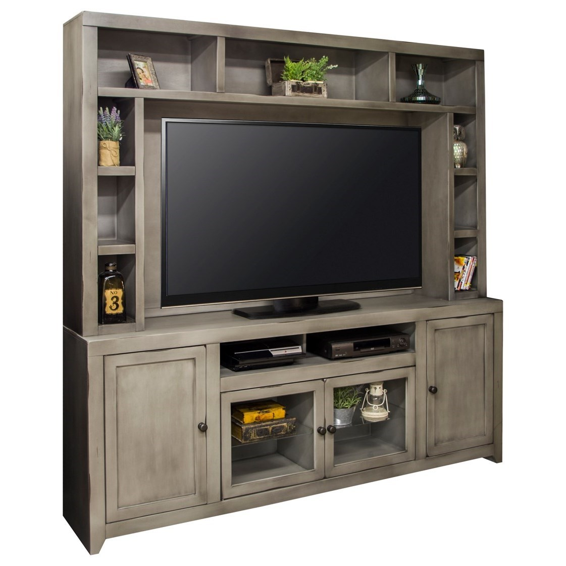 Legends Furniture Astoria Collection Entertainment Wall Console - Item Number: AS1000