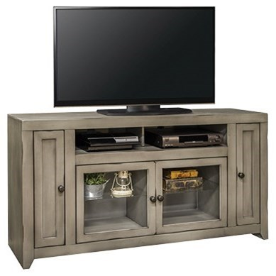 "Legends Furniture Astoria Collection Astoria 65"" TV Console - Item Number: AS1565-AGG"