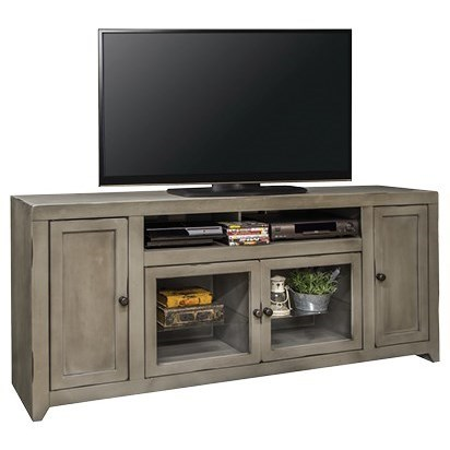 "Legends Furniture Astoria Collection Astoria 75"" TV Console - Item Number: AS1575-AGG"