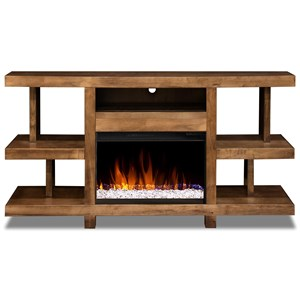 "66"" Fireplace Console"
