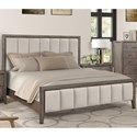 Legends Furniture Avana King Upholstered Bed - Item Number: ZAVA-7004+7003+7005