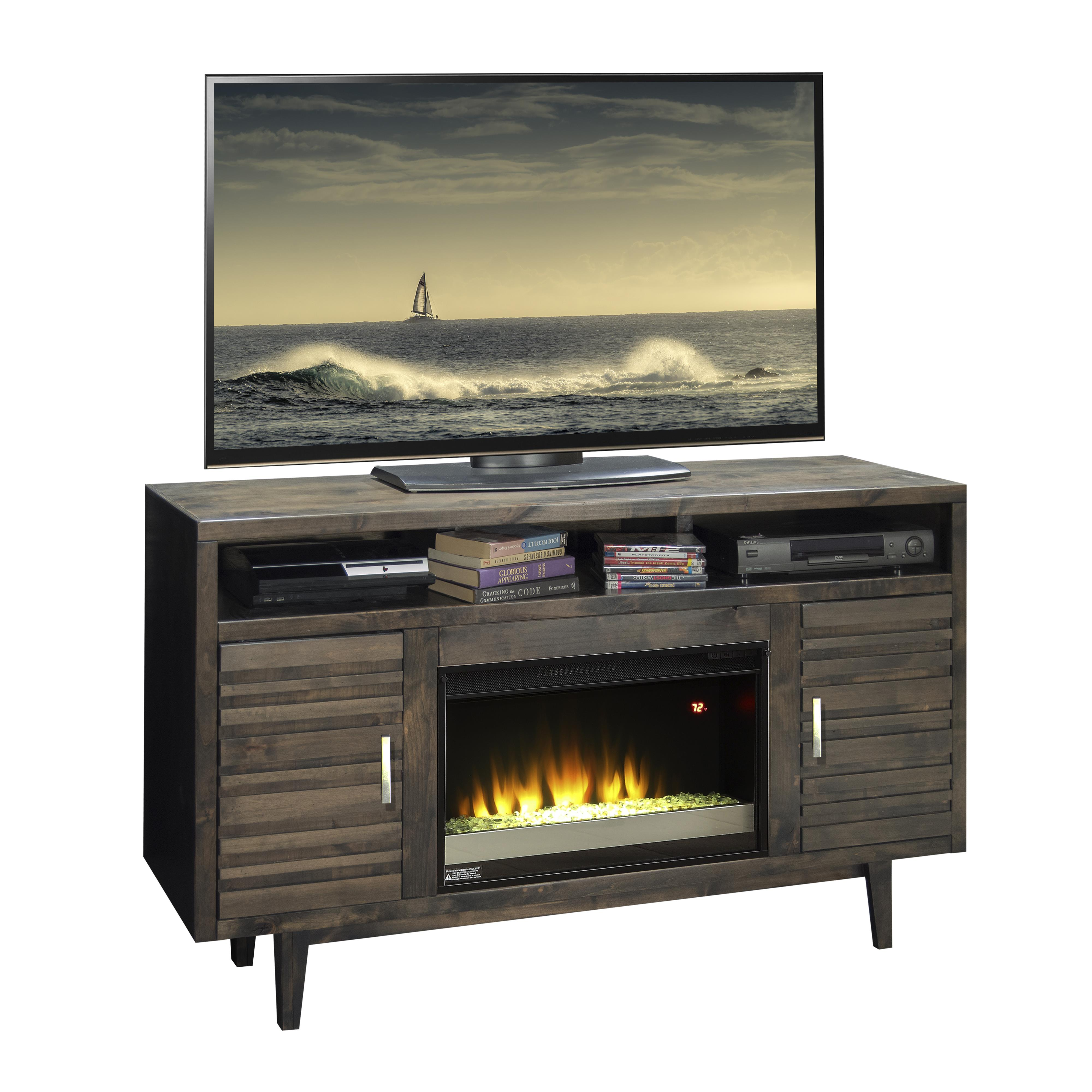 "Avondale 61"" Fireplace Console by Legends Furniture at EFO Furniture Outlet"