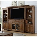 Legends Furniture Barclay Entertainment Wall Console - Item Number: ZBCL-1772+2x3000+3003