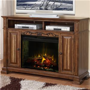 Legends Furniture Barclay Fireplace Media Center