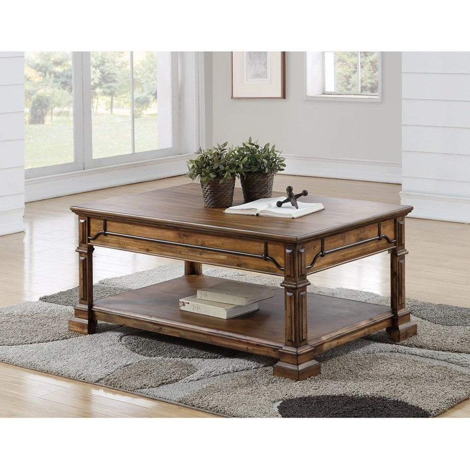 Barclay Coffee Table by Legends Furniture at EFO Furniture Outlet
