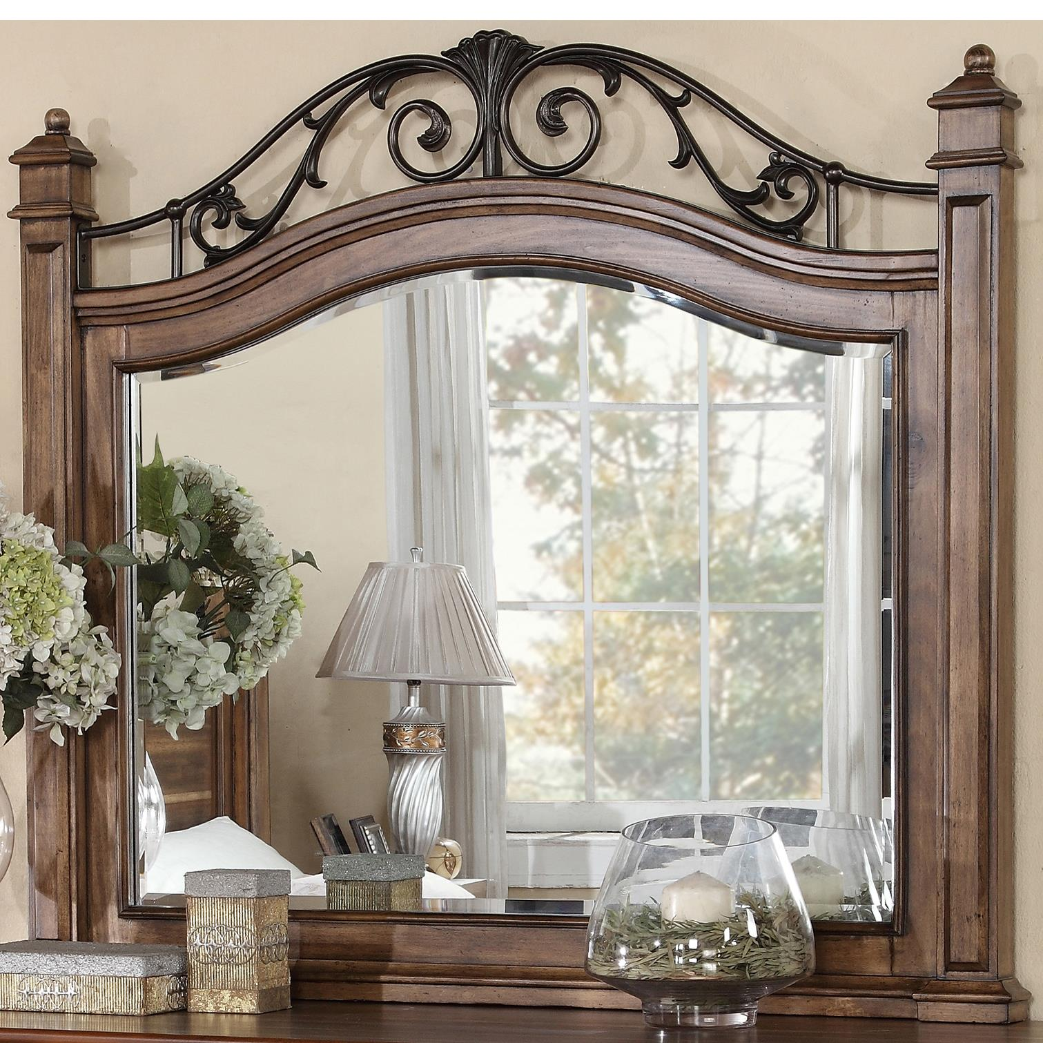 Legends Furniture Barclay Mirror - Item Number: ZBCL-7014