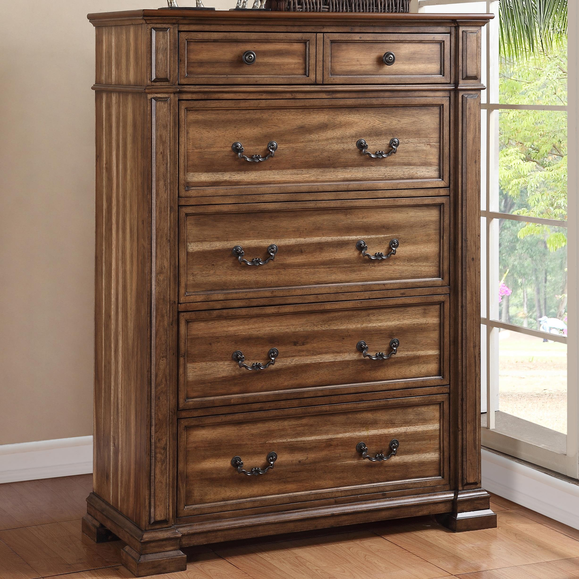 Legends Furniture Barclay Chest - Item Number: ZBCL-7016