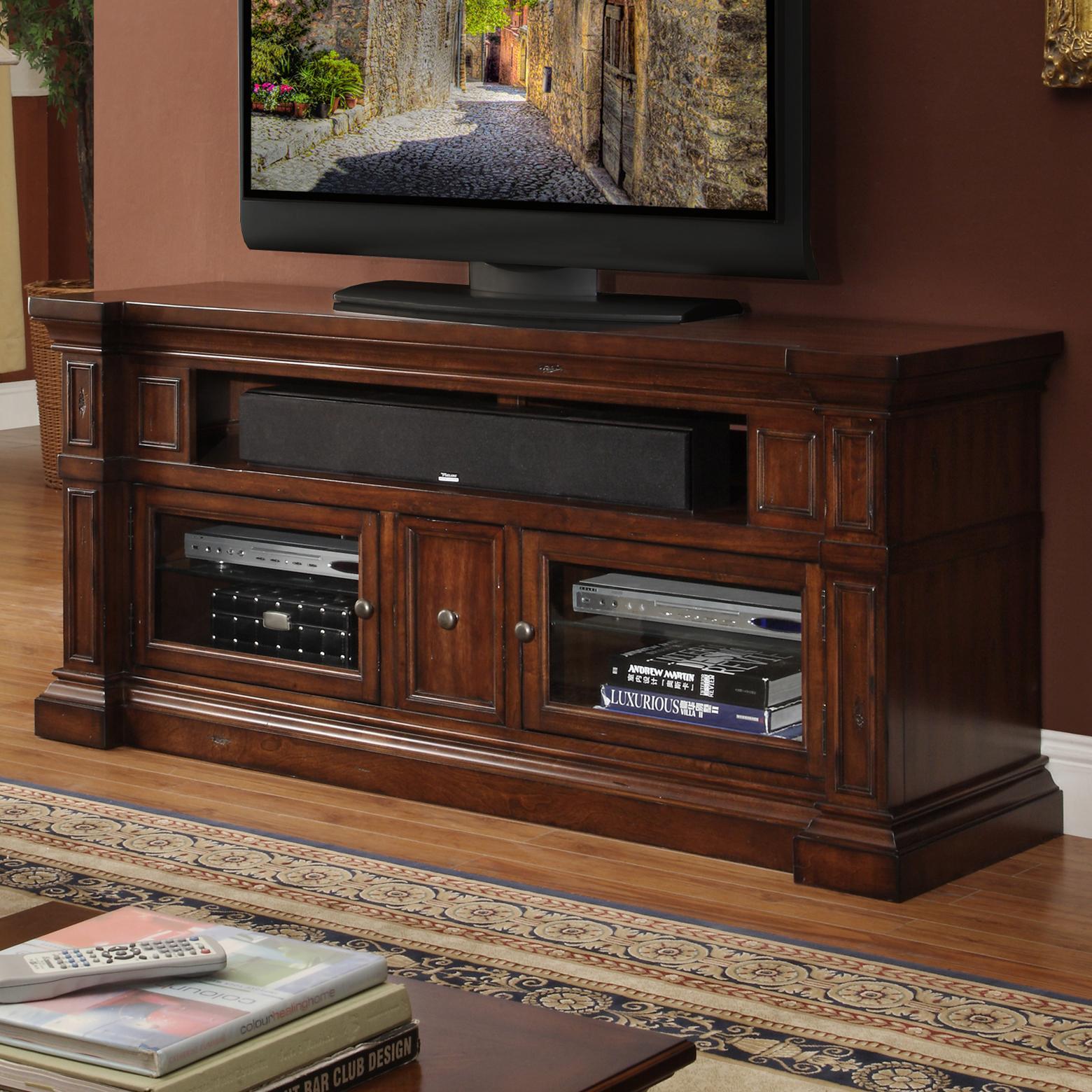 "Legends Furniture Berkshire  62"" Media Console - Item Number: ZG-B1462"