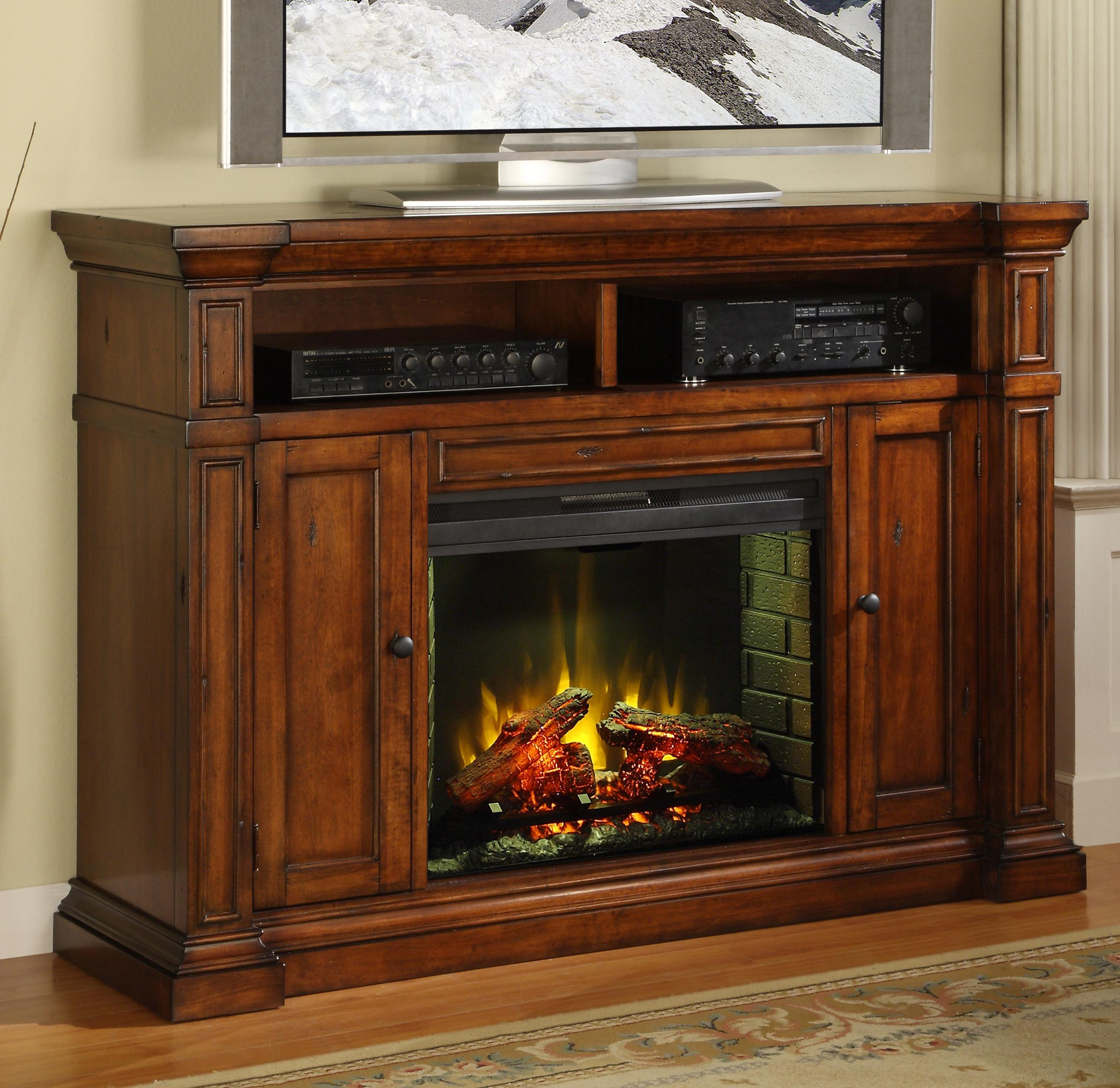 Legends Furniture Berkshire  Fireplace Media Center - Item Number: ZG-B1900