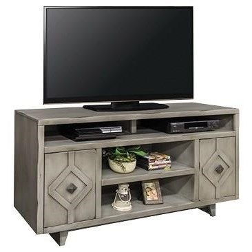 "Legends Furniture Beverly Collection Beverly 62"" Television Console - Item Number: BV1328-AGG"