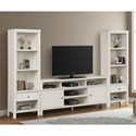 Legends Furniture Bexley Entertainment Wall Unit with 2 Piers - Item Number: ZBEX-1002G