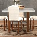 Legends Furniture Bohemian Cement Top Counter Height Table - Item Number: ZBOH-8020
