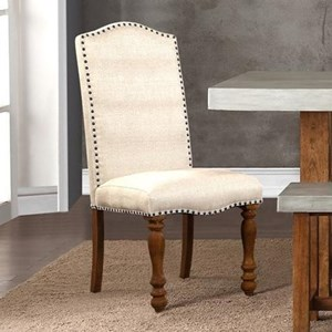 Legends Furniture Bohemian Upholstered Side Chair