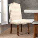 Legends Furniture Bohemian Upholstered Side Chair - Item Number: ZBOH-8031