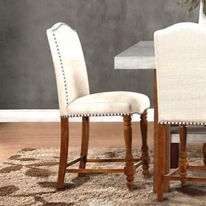 Legends Furniture Bohemian Upholstered Counter Stool