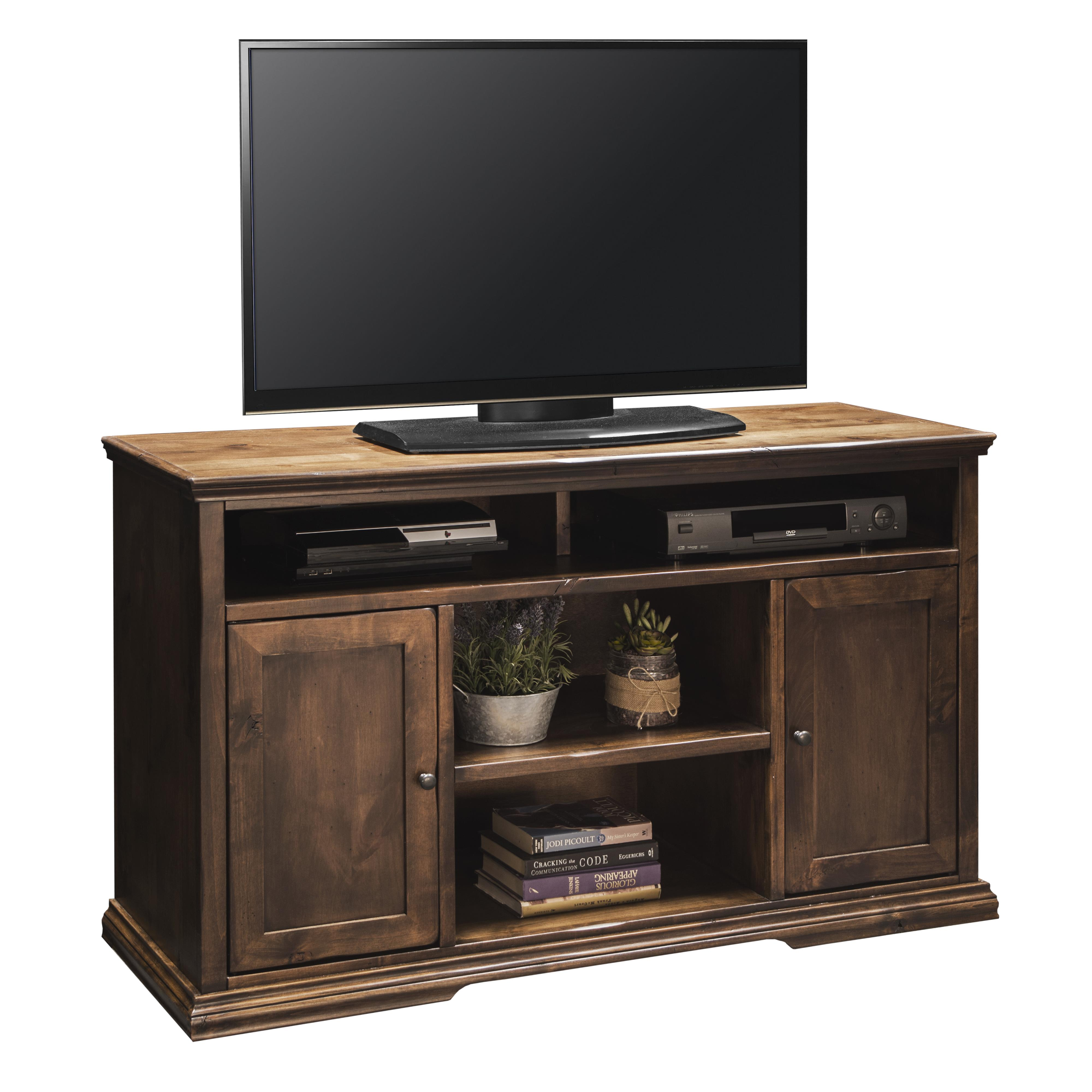 "Legends Furniture Bozeman Collection 52"" TV Console - Item Number: BZ1327-AWY"