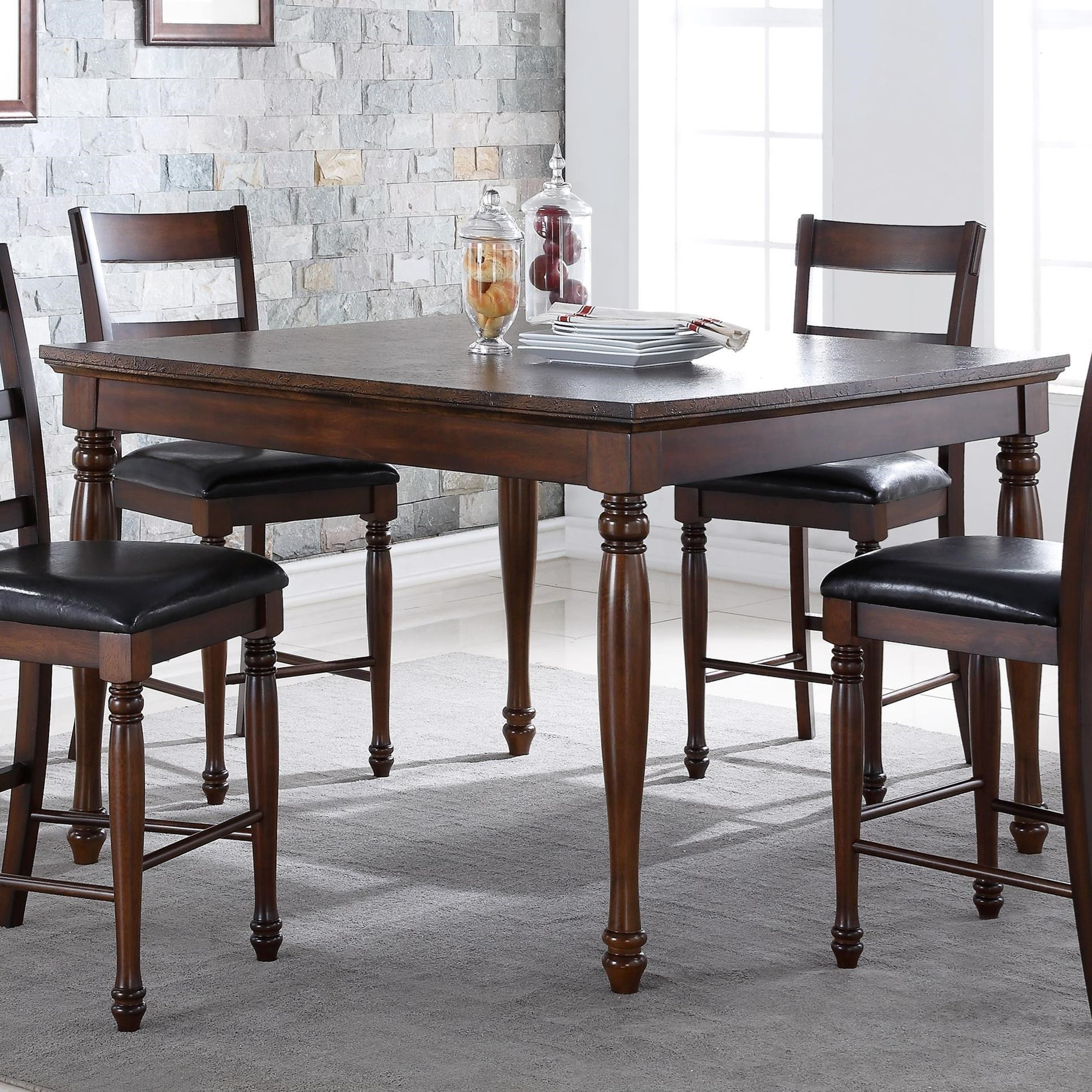 "Legends Furniture Breckenridge Breckenridge 54"" Counter Height Table - Item Number: ZBRG-8000"