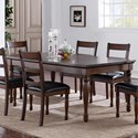 Legends Furniture Breckenridge Breckenridge Dining Table - Item Number: ZBRG-8060