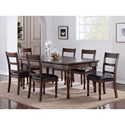 Legends Furniture Breckenridge Breckenridge Dining Table with Stain Resistant Top