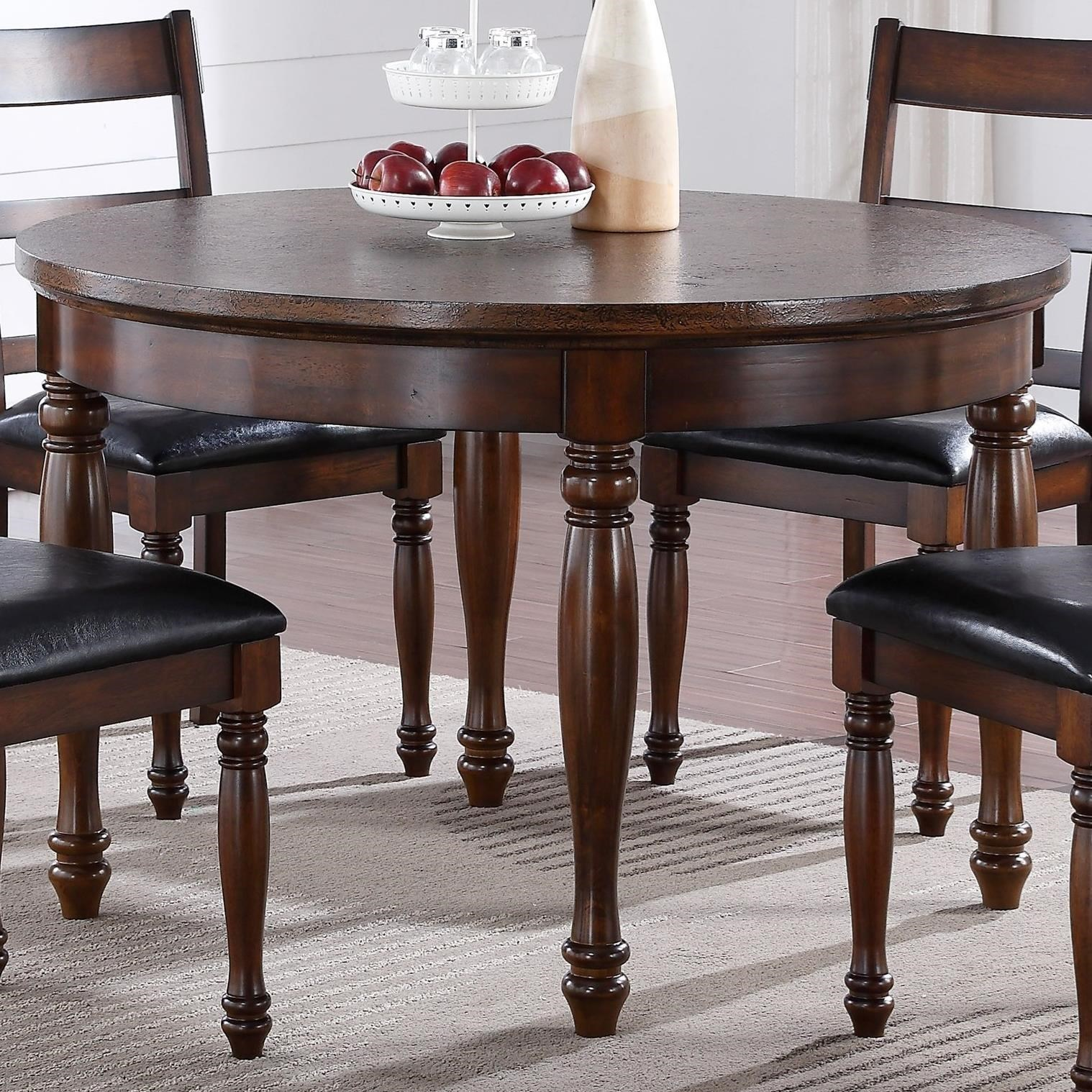 "Legends Furniture Breckenridge Breckenridge 48"" Round Table - Item Number: ZBRG-8080"