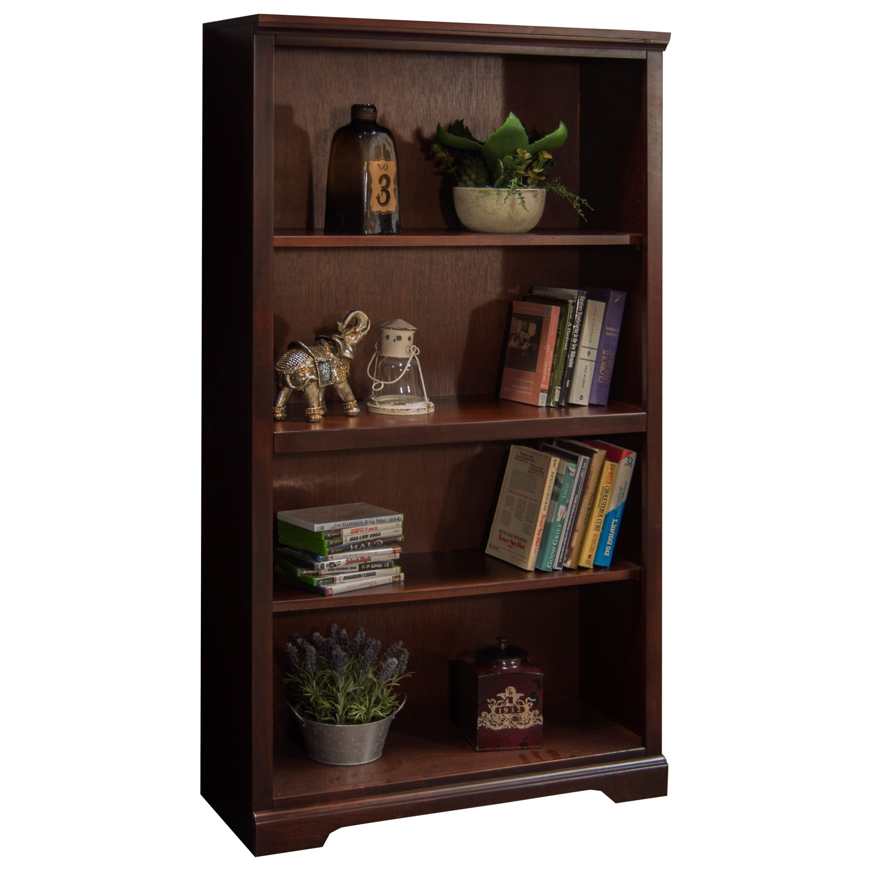 "Legends Furniture Brentwood Brentwood 60"" Bookcase - Item Number: BW6860.DNC"