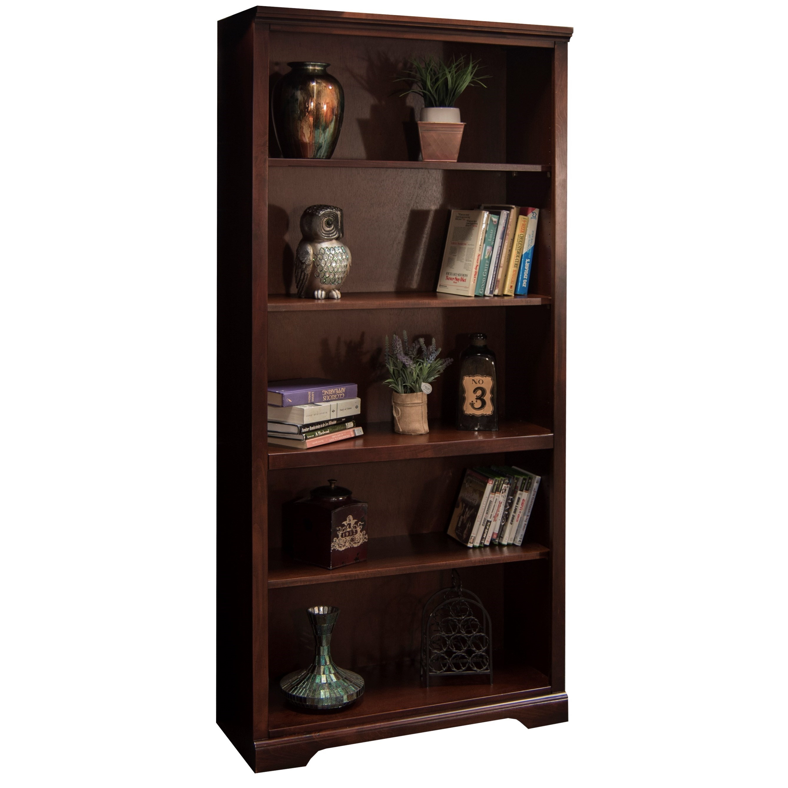 "Legends Furniture Brentwood Brentwood 72"" Bookcase - Item Number: BW6872.DNC"