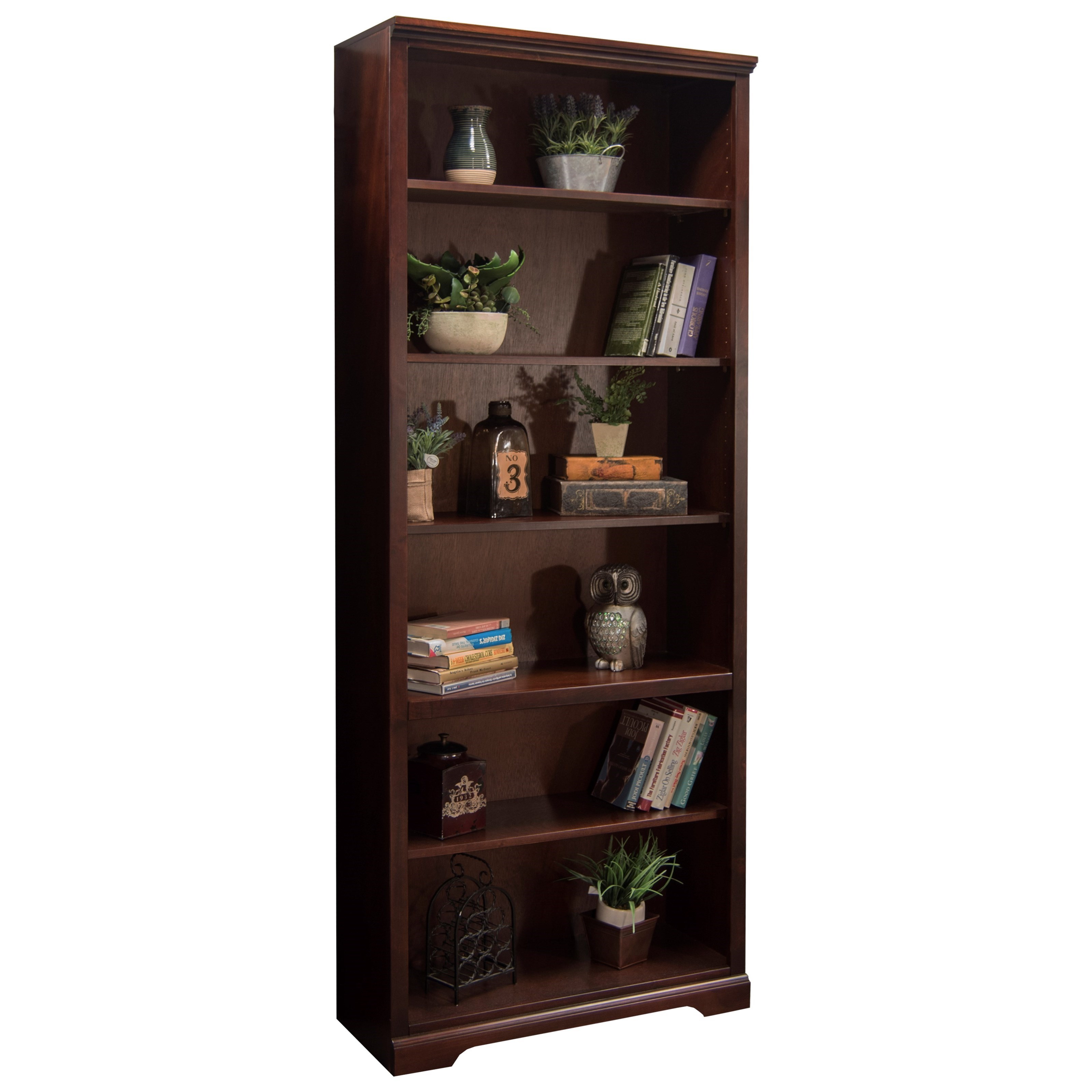 "Legends Furniture Brentwood Brentwood 84"" Bookcase - Item Number: BW6884.DNC"