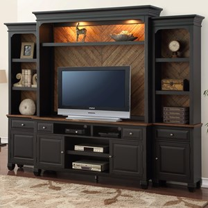 Legends Furniture Brighton Entertainment Wall Console