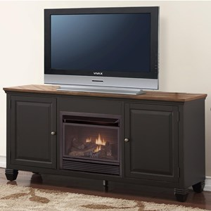 Legends Furniture Brighton Fireplace Console