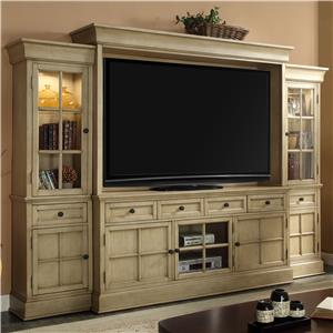 Legends Furniture Bristol Collection Entertainment Wall Unit