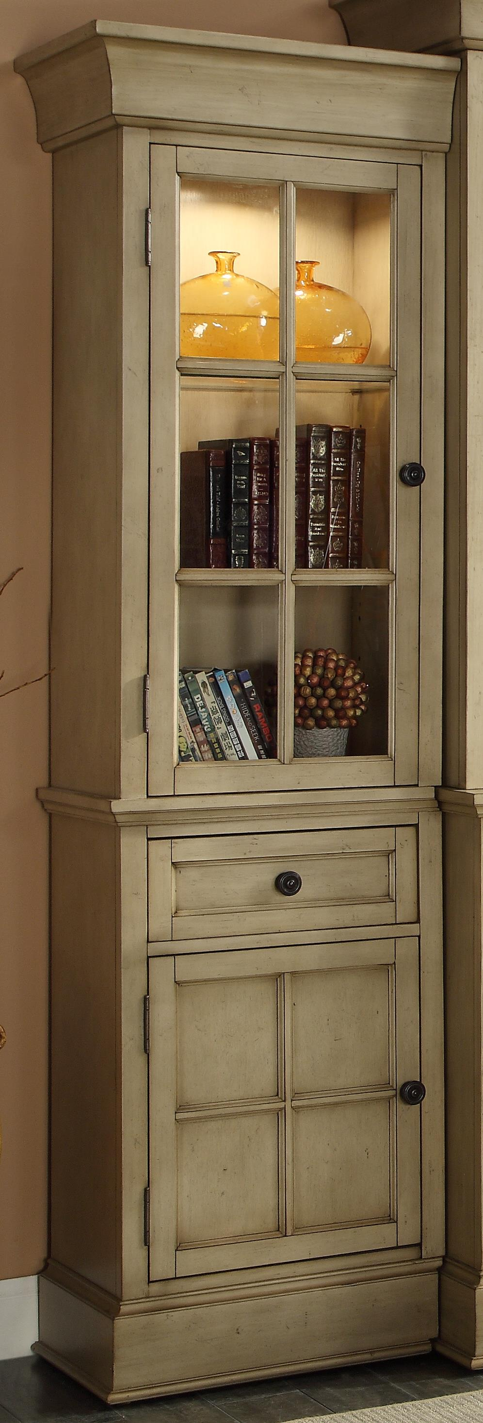 Legends Furniture Bristol Collection Left Bookcase Pier - Item Number: ZBRT-3001