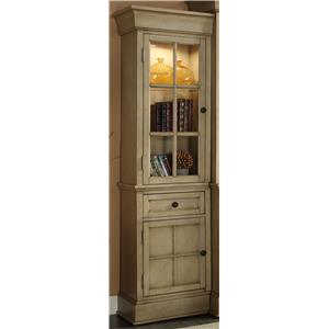Legends Furniture Bristol Collection Left Bookcase Pier