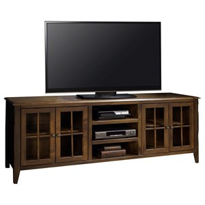 "Vendor 1356 Brownstone Collection Brownstone 80"" TV Console"