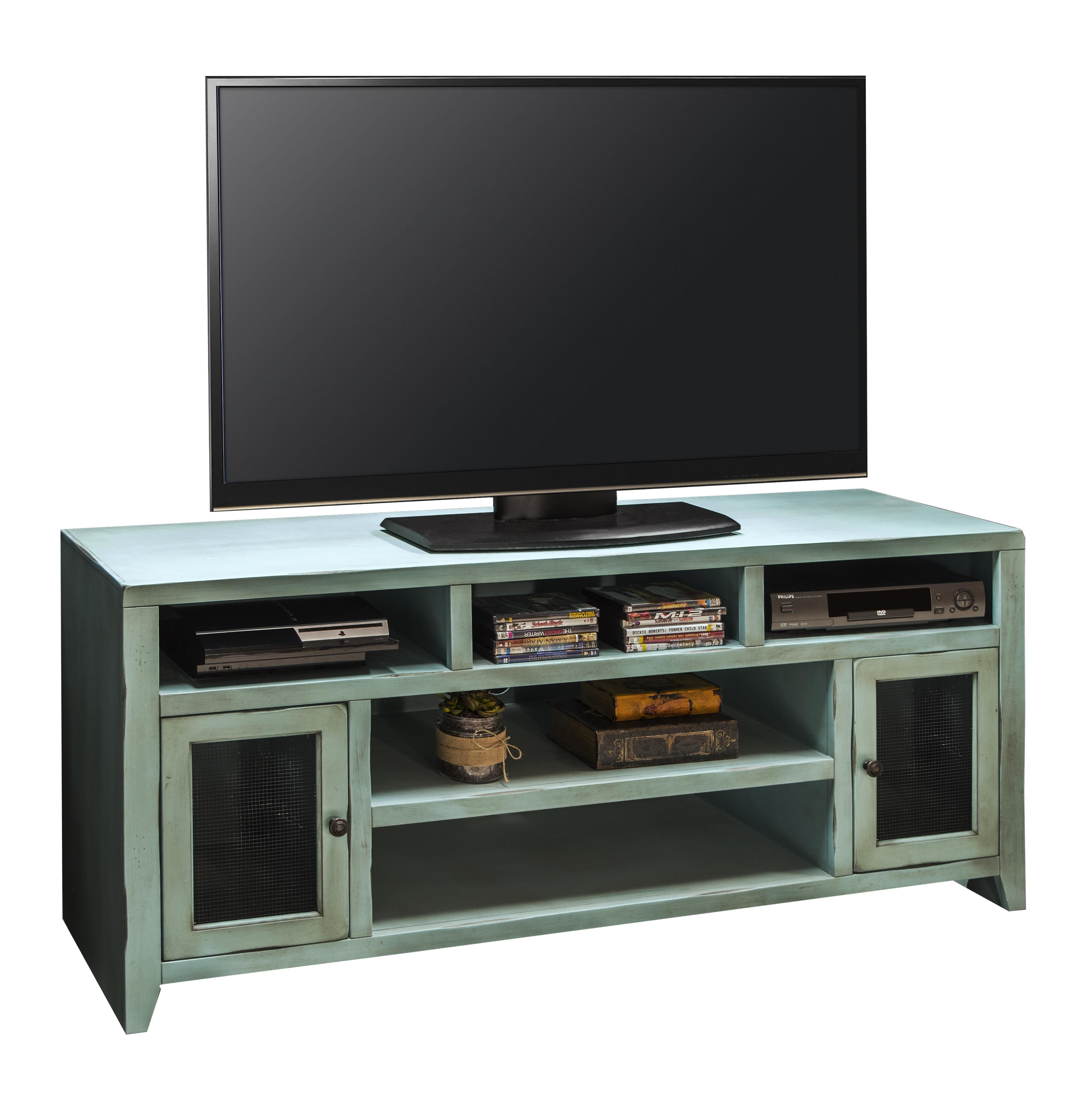 "Legends Furniture Calistoga Collection Calistoga 66"" TV Console - Item Number: CA1209-RBL"