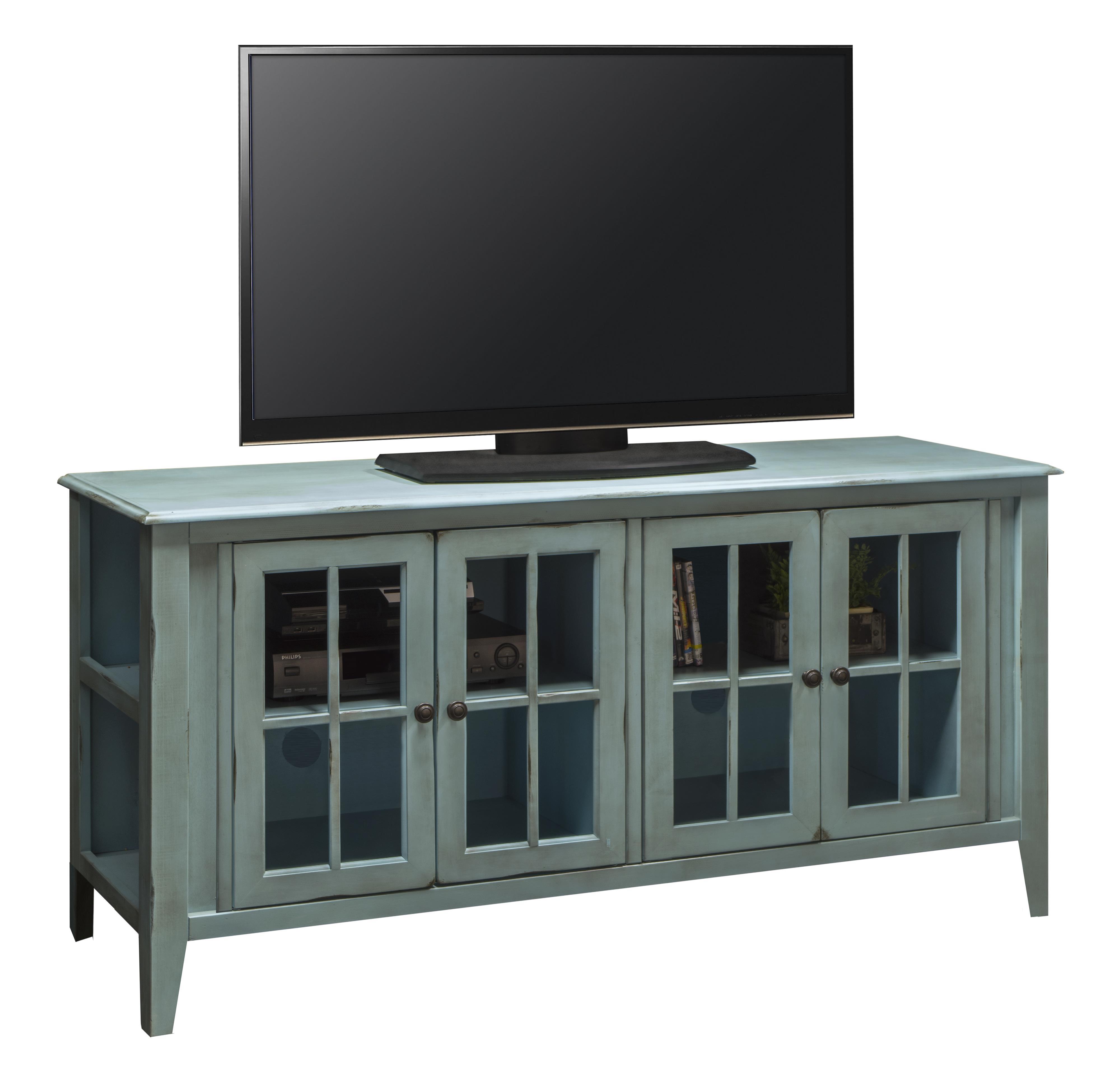 "Legends Furniture Calistoga Collection Calistoga 64"" TV Console - Item Number: CA1251-RBL"