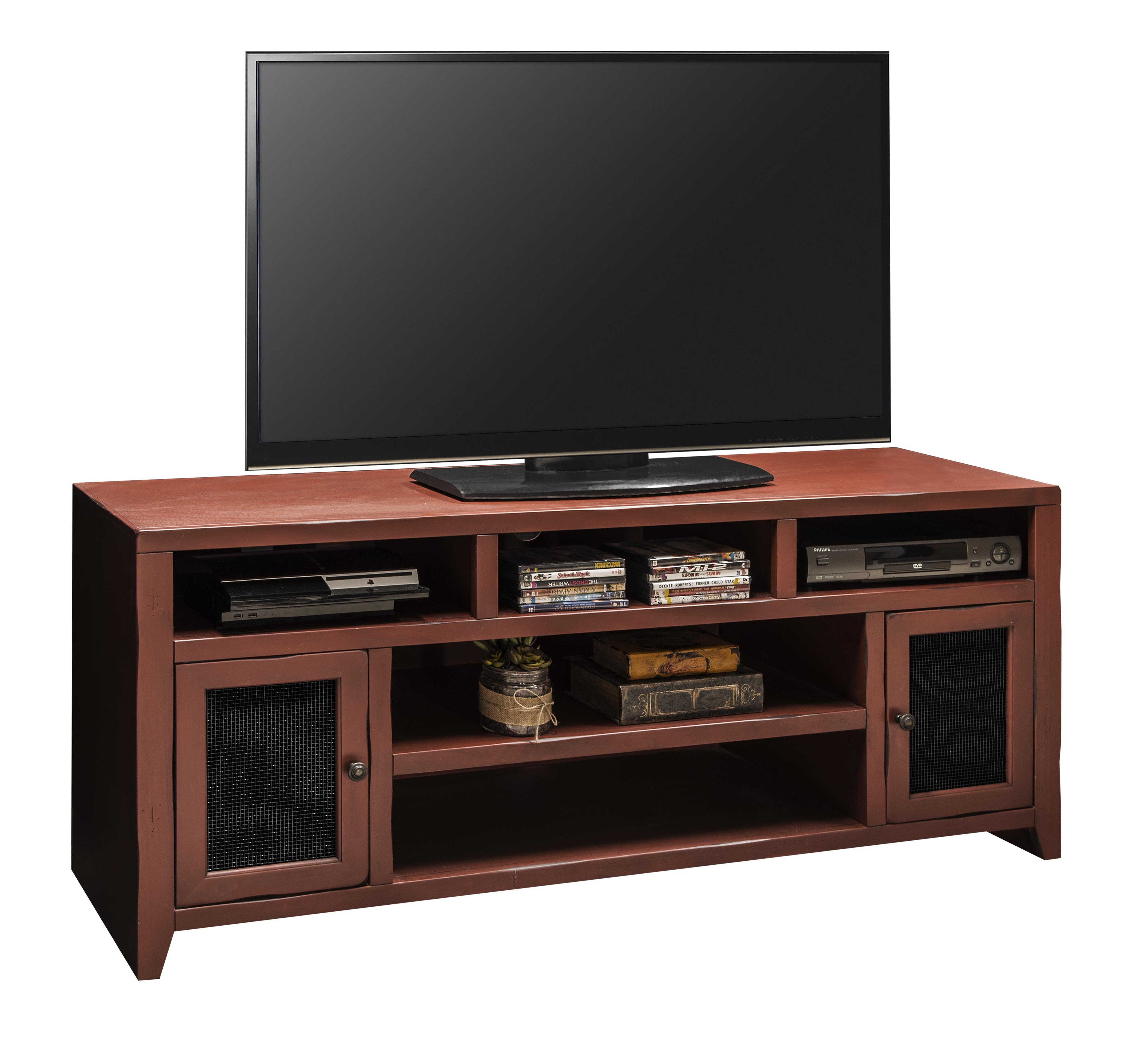 """Legends Furniture Calistoga Collection Calistoga 66"""" TV Console - Item Number: CA1309-RRD"""