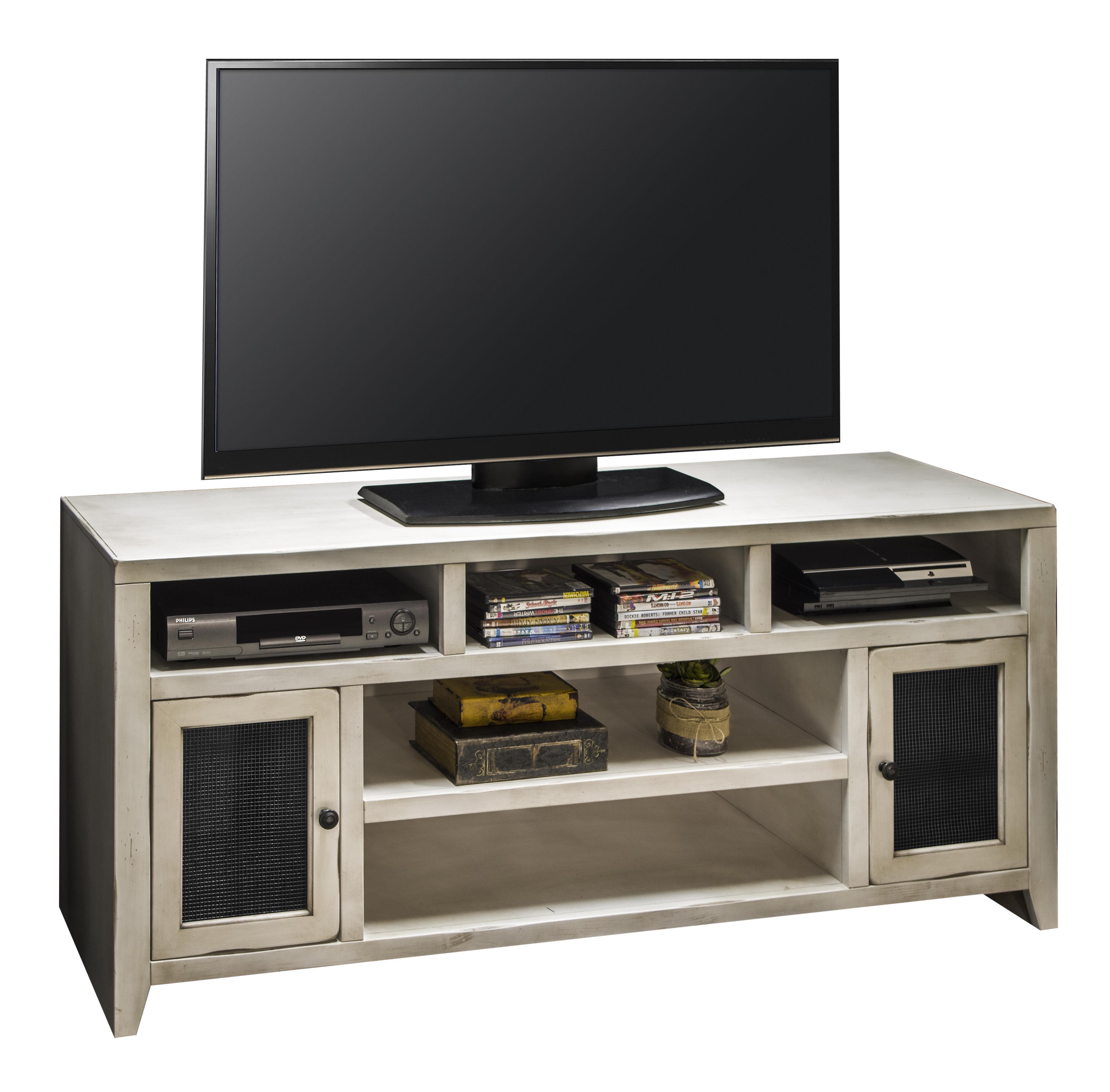 """Legends Furniture Calistoga Collection Calistoga 66"""" TV Console - Item Number: CA1409-RWT"""