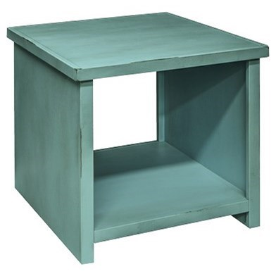 Legends Furniture Calistoga Collection Calistoga Blue End Table - Item Number: CA4120-RBL