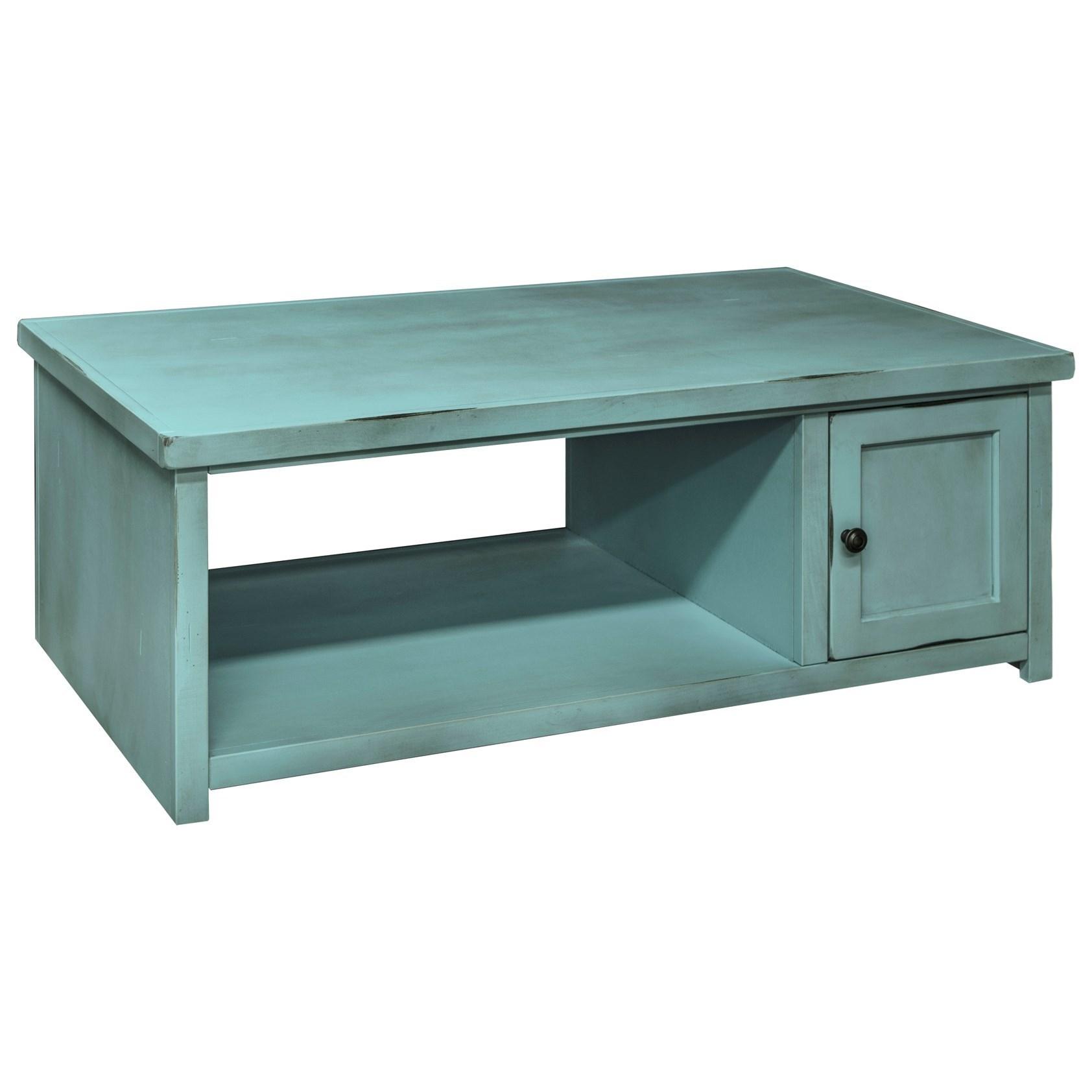 Legends Furniture Calistoga Collection Calistoga Coffee Table - Item Number: CA4220-RBL