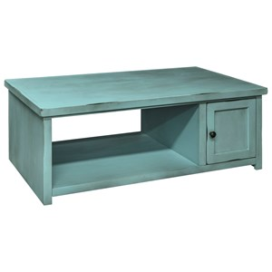 Legends Furniture Calistoga Collection Calistoga Coffee Table